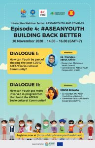 ASEAN Youth Building Back Better